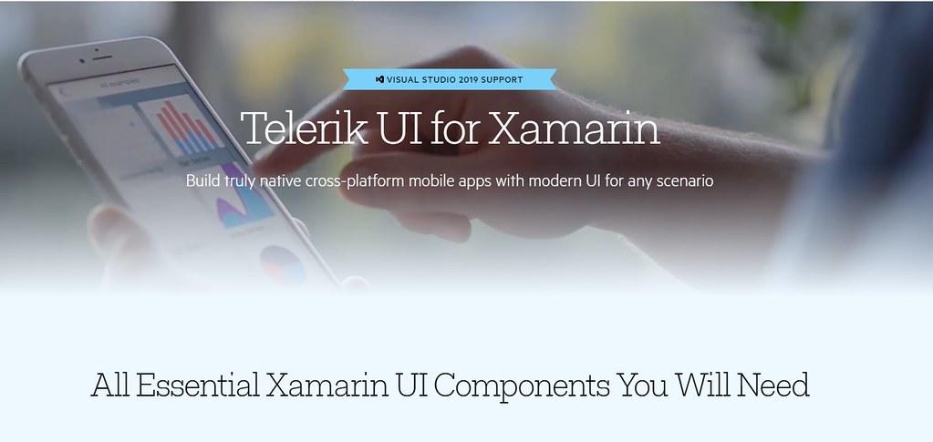 Telerik UI for Xamarin